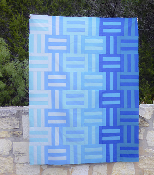 Water,Waves Quilt Free Pattern