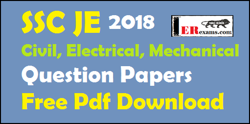 Ssc Je Electrical Paper Pdf