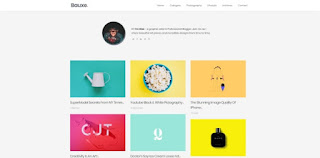 Bauxe blogger template