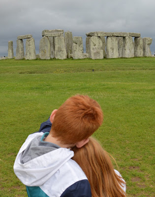English Heritage Stonehenge with kids