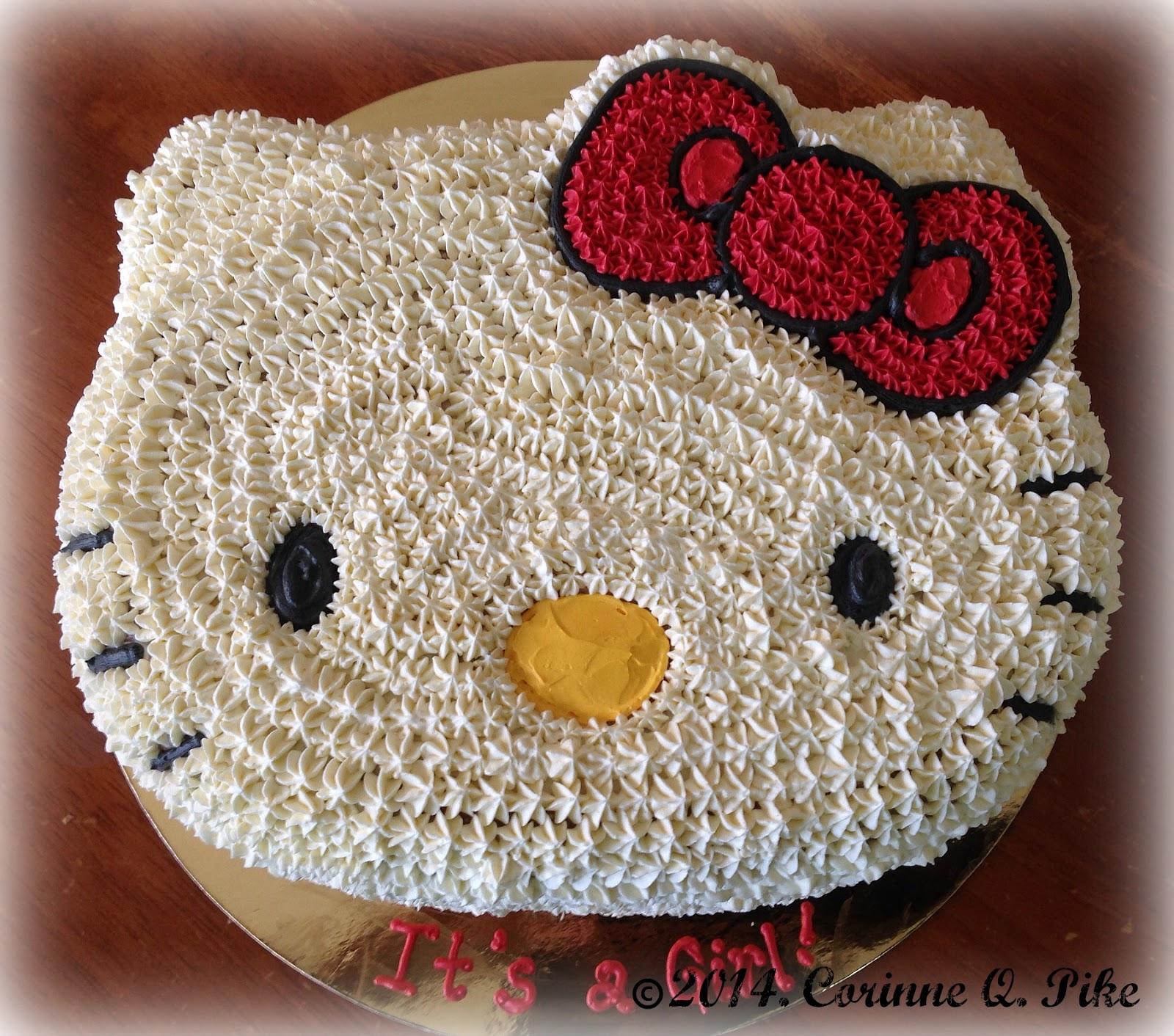 Heart Of Mary Hello Kitty Cake
