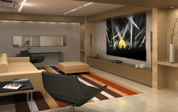 Sala Tv Com Home Theater