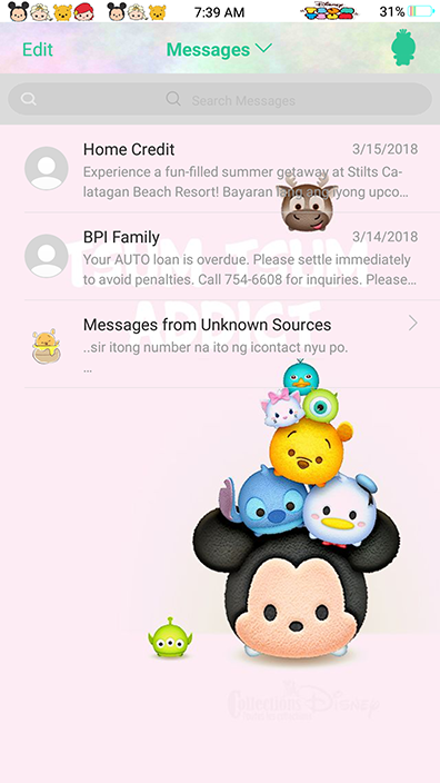 Oppo Themes|Disney Cuties Theme