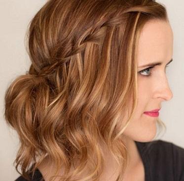 se llevan a un costado para un look romntico o enmarcando tu rostro en la parte delantera te muestro bonitos peinados con trenzas para pelo corto que