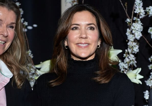 Crown Princess Mary presented 2020 Women's Board Award to Anne Louise Eberhard. the theme for the award is Sustainable Leadership