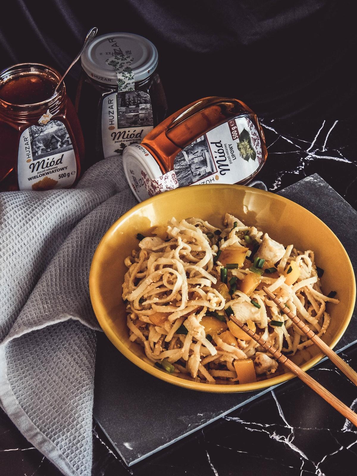 5 miody huzar jakosc opinie przepis na obiad danie z miodem pad thai azjatycka kuchnia dla kazdego przepisy