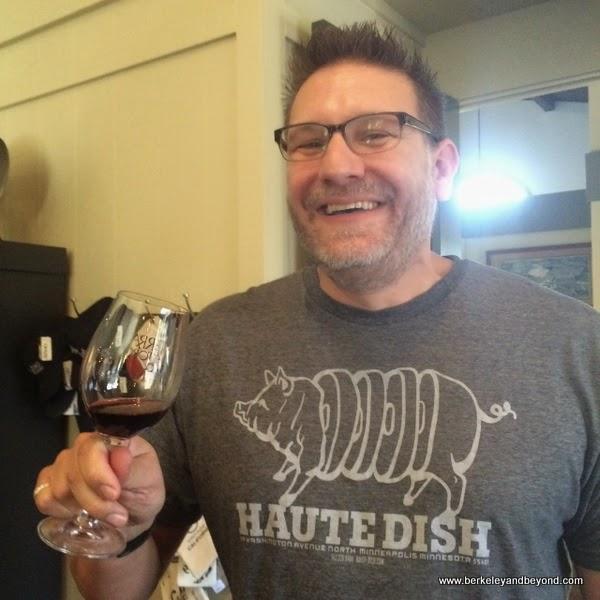Chris Leamy/winemaker, Terra D'Oro & Montevina Wineries, Plymouth, California
