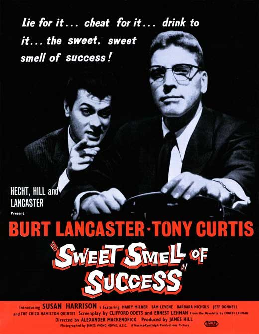 Image result for sweet smell of success (1957)