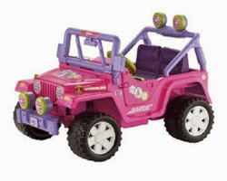 [Wal-Mart Black Friday Shopping for Barbie Jeep]