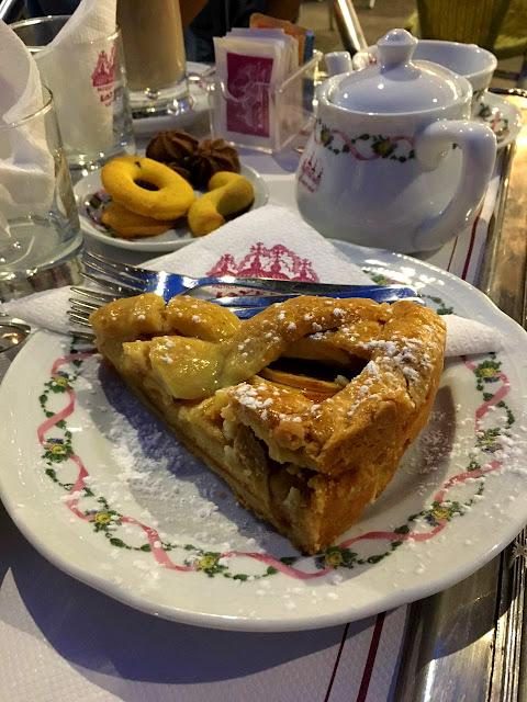 apple pie, venedik, gezi, tur, yemek, tatlı, pasta