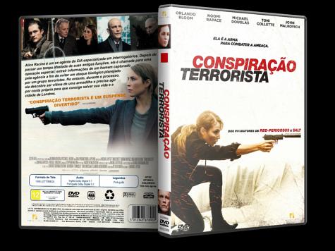 Capa DVD Conspiração Terrorista [Custom]