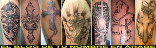 Tatuaajes con ls cruz cristiana