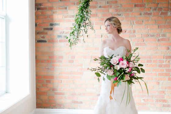 Modern Pink Green Wedding Ideas That Pop