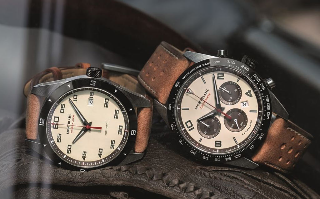"""f5dc51b63cc Montblanc Timewalker """"Cappuccinos"""". Produced in 1500 pieces"""