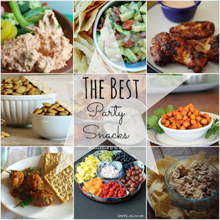 Country Fair Blog Party Blue Ribbon Winner: The Gingered Whisk's The Only Party Snacks You Need