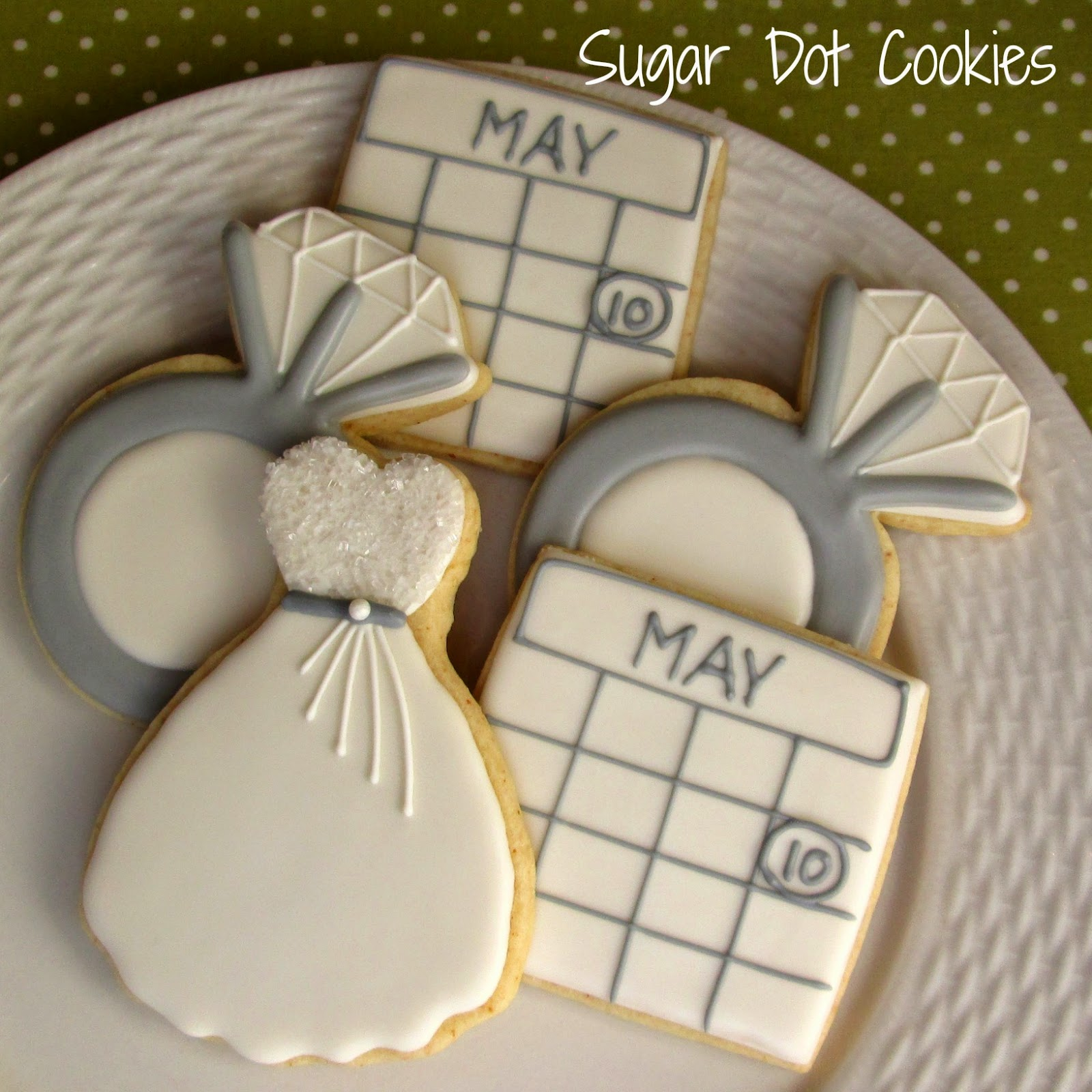 Decorated Wedding Cookies For Sale