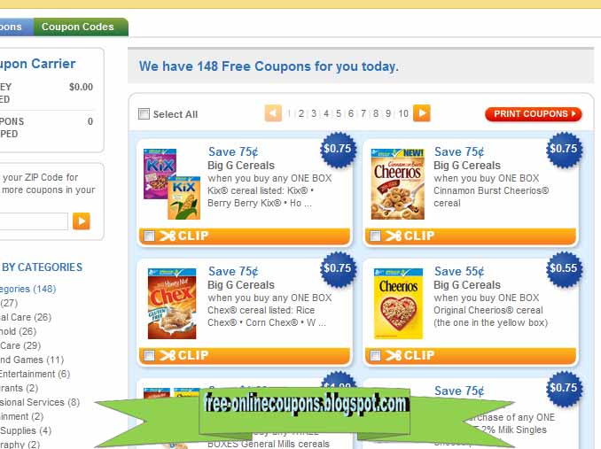 Free printable grocery coupons april 2018