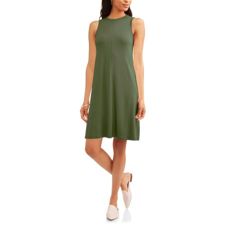 1153e82ad76 If you need a classic t-shirt dress- look no further than this one! It s by  the brand Time and Tru and they are calling it their