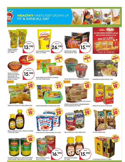 Katalog Super Indo Jabodetabek dan Palembang Periode 18-24 Mei 2017