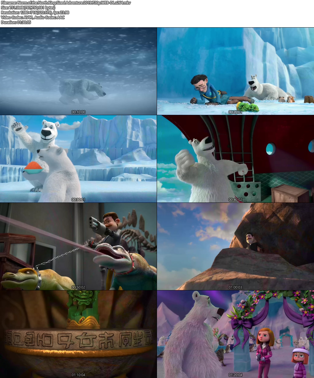 Norm of the North King Sized Adventure 2019 720p WEB-DL | 480p 300MB | 100MB HEVC Screenshot