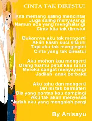 Puisi Cinta By Anisayu Cinta Tak Direstui