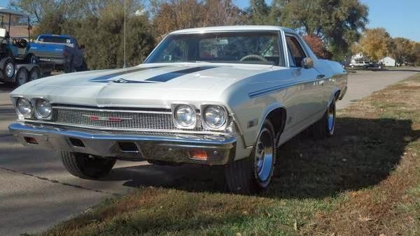 Daily Turismo: 10k: Yenko SC Clone: 1968 Chevrolet El Camino