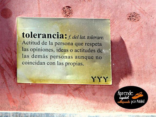 Aprende español callejeando por Madrid: Palabras importantes
