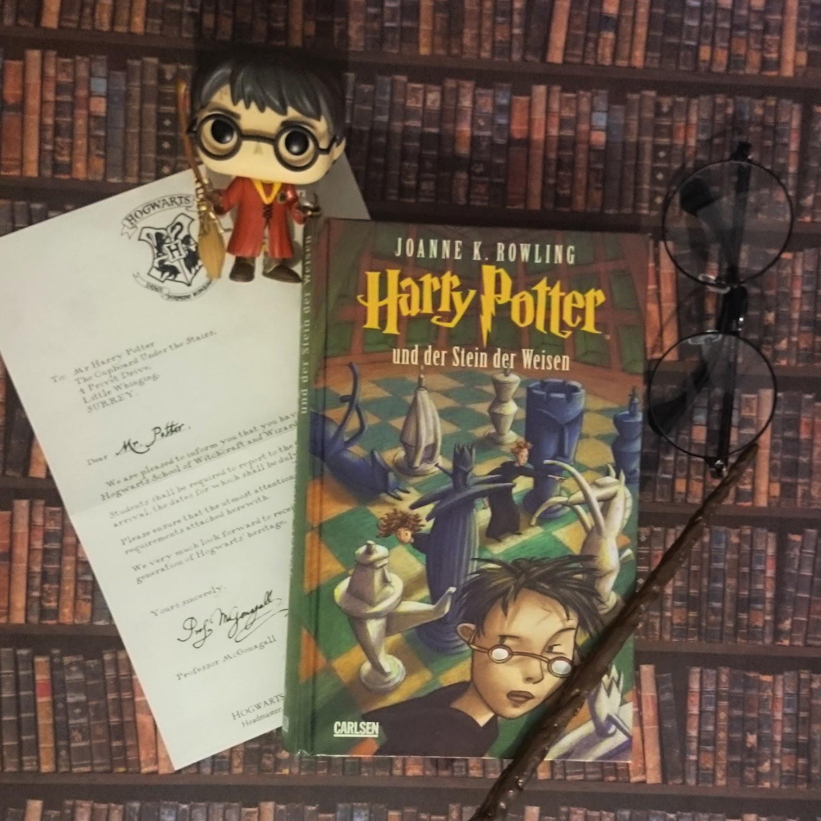 Harry Potter Stein Der Weisen Buch