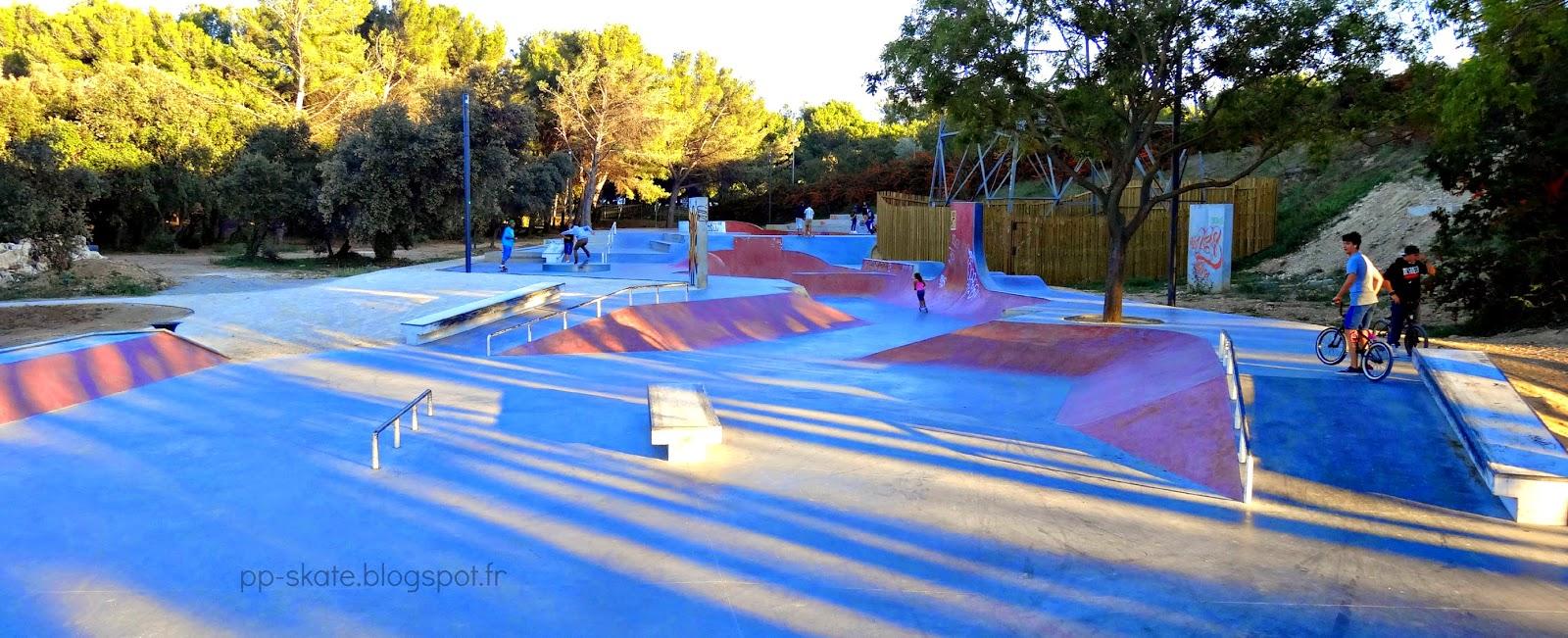Skate park Istres