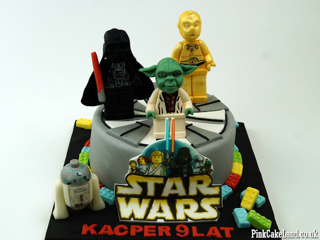 star wars lego cake london
