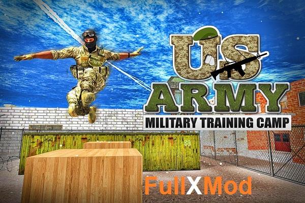 US Army Military Training Camp Mod Apk