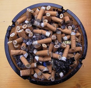 Image result for full ashtray