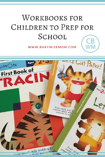 Workbooks to Prepare Children for School