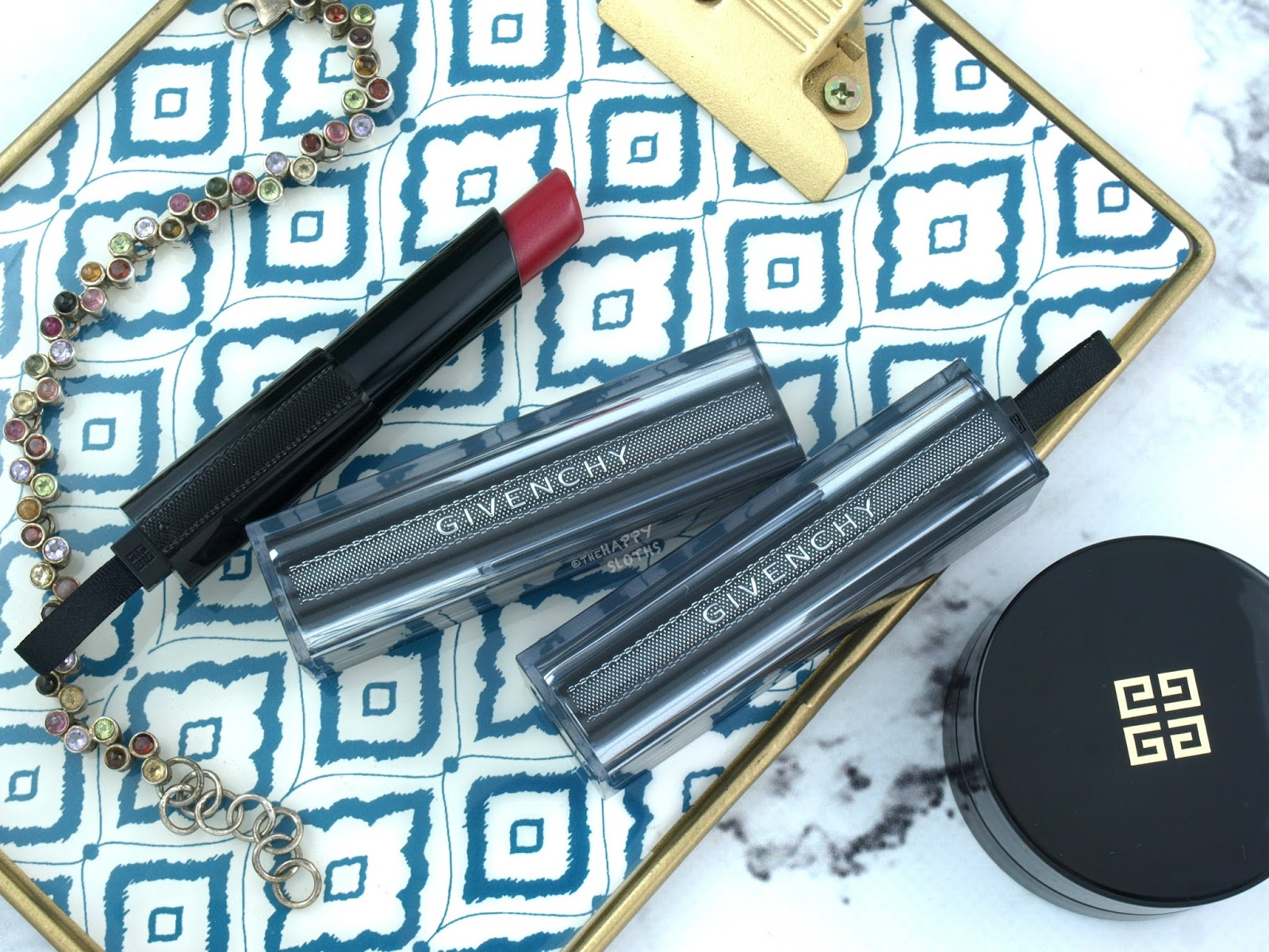 Givenchy | Les Saisons 2018 Rouge Interdit Vinyl Lipsticks: Review and Swatches