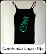 Camiseta Lagartija