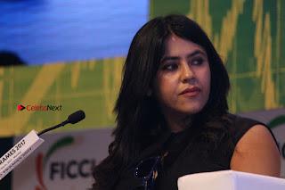 Ekta Kapoor Anurag Kashyap & Ramesh SippyAt at FICCI FRAMES 2017  0112.JPG