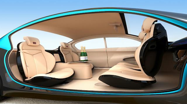 vehículo autónomo del futuro