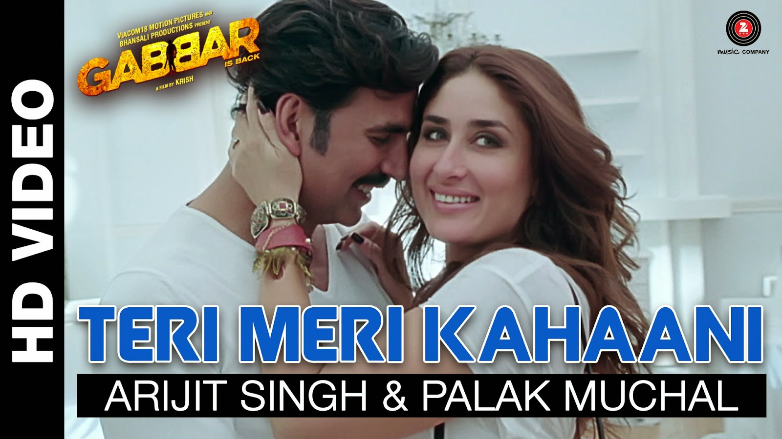 Teri Meri Kahaani HD Video Song Arijit Singh - Gabbar Is Back