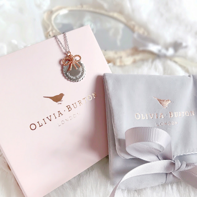 What I Got For Christmas 2016   Olivia Burton Bow Necklace