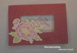 Embossing mit Stampin´ Up!