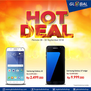 Hot Deal Samsung di Global Teleshop