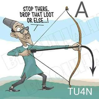 Buhari cartoon