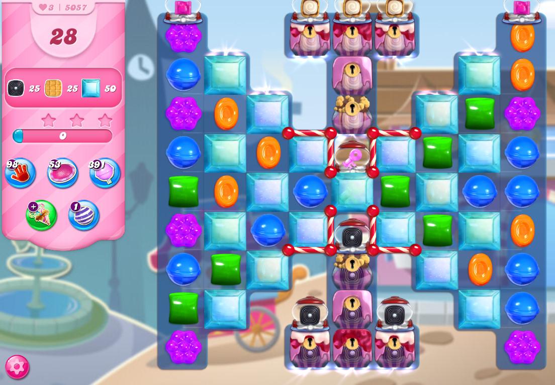 Candy Crush Saga level 5057