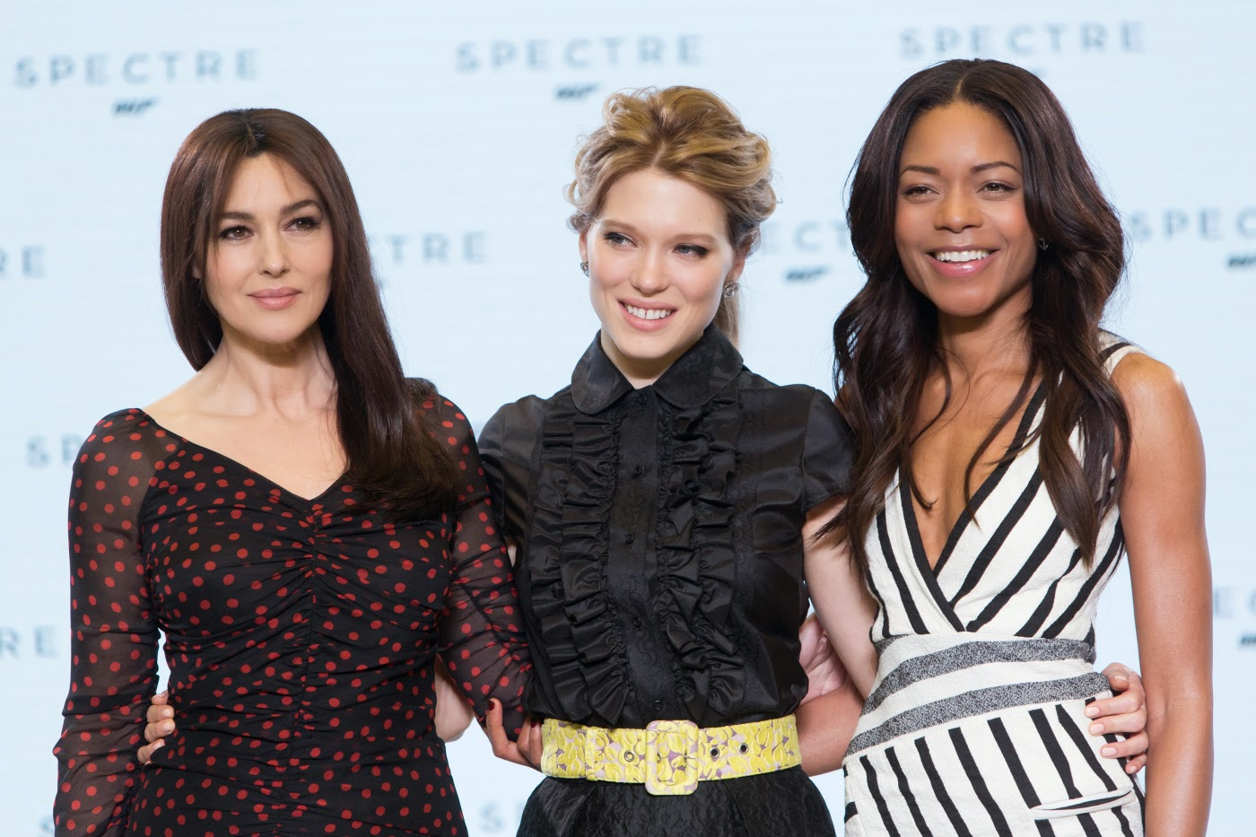 James Bond 007 SPECTRE: Monica Bellucci, Léa Seydoux und Naomie Harris