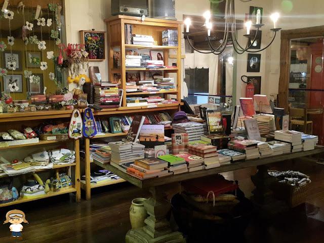 livraria do Empório Canela