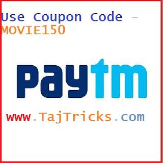 Paytm MOVIE150 Movie Ticket Cashback/Promo Code