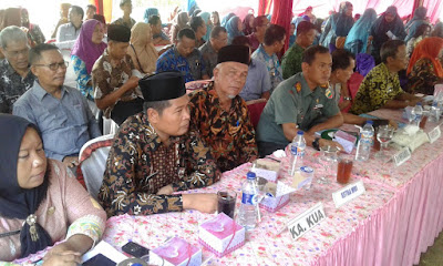 Siap Menjadi Kecamatan Terbaik Tim Penilai Kabupaten Kunjungi Kecamatan Air Batu