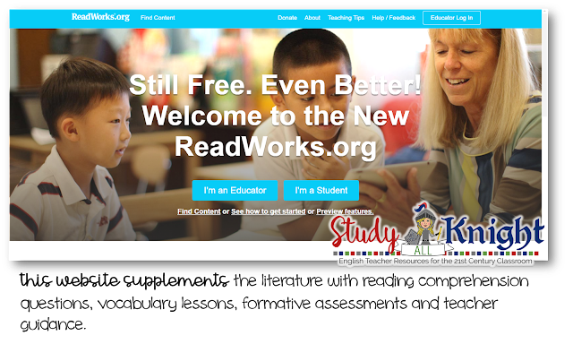 Image of the ReadWorks.org site