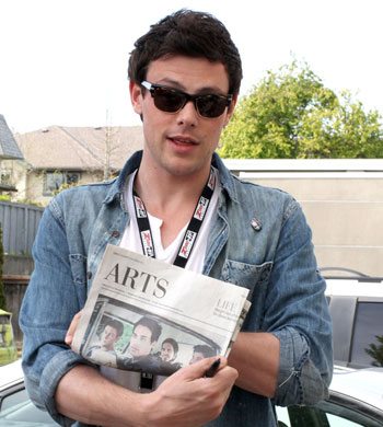 Fashion And The City: Cory Monteith Pumps Out Another
