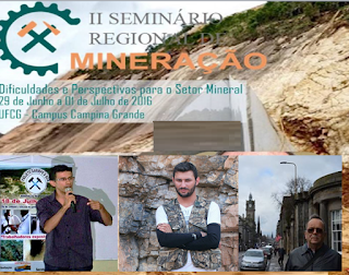 Atividade mineradora de Picuí será representada em seminário na UFCG